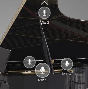 Arturia Piano V review mic visualization image