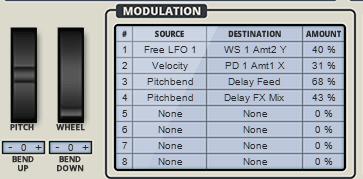 Rob Papen QUAD Review modulation