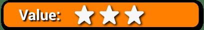 Value 3 Stars