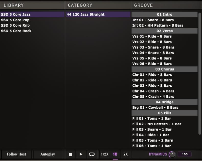 Steven Slate Drums 5.5 Grooves
